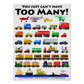 Too Many! Poster