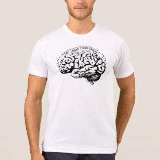 Too Many Tabs Open Brain T-Shirt