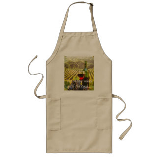 Too many wines spoil the c... long apron