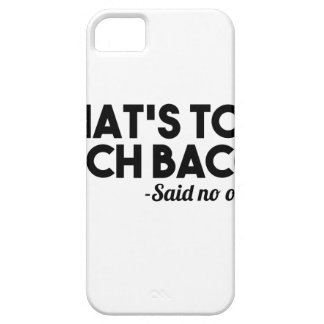 Too Much Bacon iPhone 5 Cover