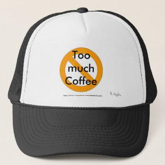 Too much coffee hat designed by B. Keyler