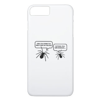 Too Much Time On The Web iPhone 7 Plus Case