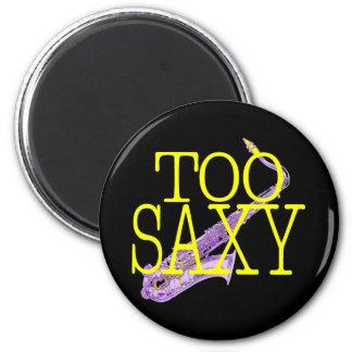 Too Saxy 6 Cm Round Magnet