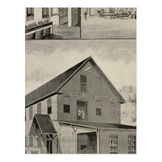 Toof's Laundry, Concord, NH Postcard