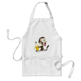 Tooky Gon' Be Sick White Aprons