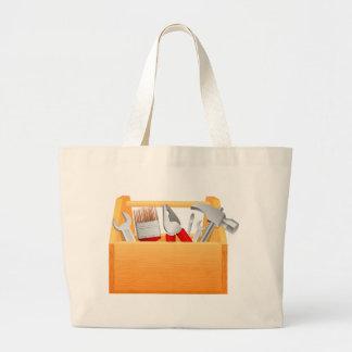 Tool Box Large Tote Bag