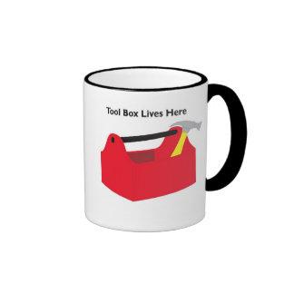 Tool Box Ringer Coffee Mug