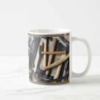 Tool Break Tea Cup Basic White Mug