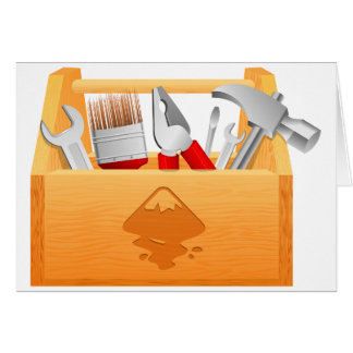Toolbox Greeting Cards