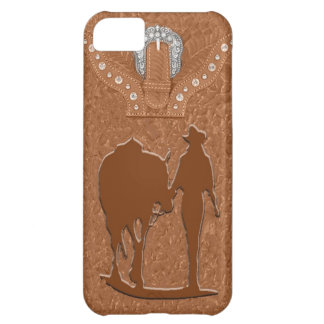 """""""Tooled Leather Cowgirl"""" Western IPhone 5 Case"""