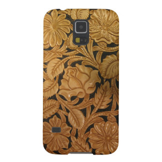 Tooled Leather Galaxy S5 Case