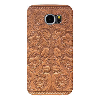 (tooled leather) Galaxy S6 Samsung Galaxy S6 Cases