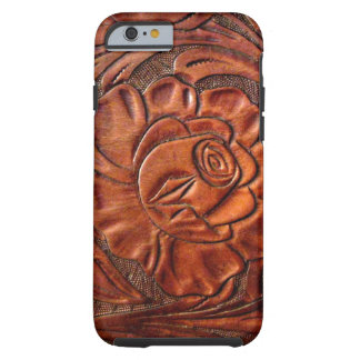 Tooled Leather iPhone 6 case