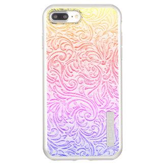 Tooled Leather Kawaii Western Cottage Incipio DualPro Shine iPhone 8 Plus/7 Plus Case