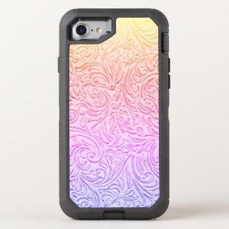 Tooled Leather Kawaii Western Cottage OtterBox Defender iPhone 8/7 Case