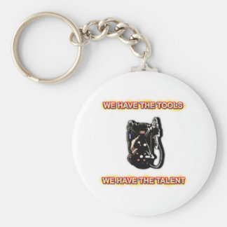 Tools and Talent Keychain