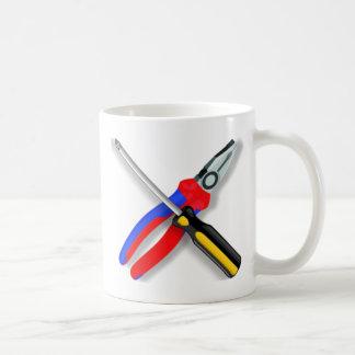 Tools Basic White Mug