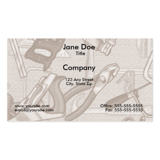 Tools Business Card