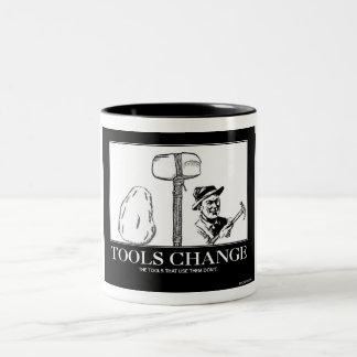 Tools Change Two-Tone Mug