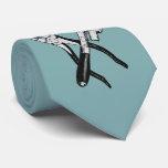 TOOLS custom monogram & colour tie
