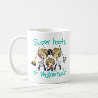 Tools of Motherhood Basic White Mug
