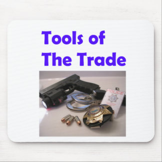 Tools of the trade mouse pad