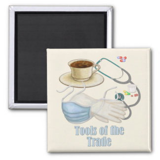 Tools of the Trade Square Magnet