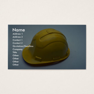 Tools of Trade- Hard hat Business Card