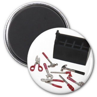 ToolsMiniature070109 6 Cm Round Magnet