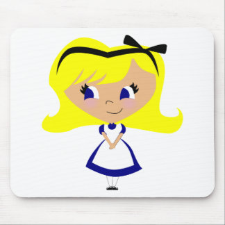 Toon Alice - Alice's Adventures in Wonderland Mouse Pad