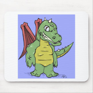 Toon Dragon Mouse Pad