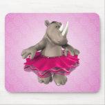 Toon Rhino Mousepad