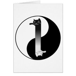 Toon Tao of Longcat Greeting Card