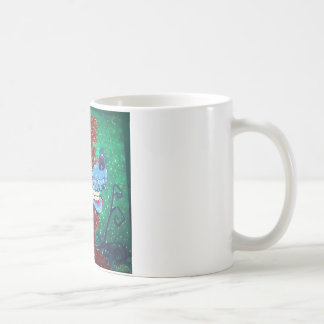 Toon Wolf Coffee Mug
