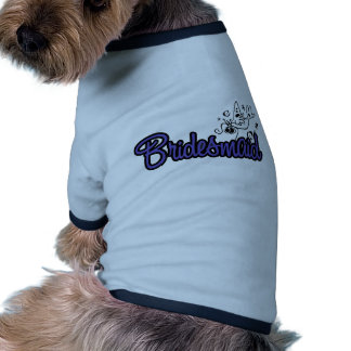 ToonDoveBridesmaidInd Ringer Dog Shirt