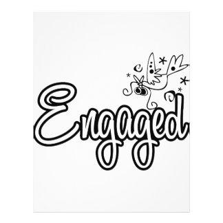 ToonDoveEngaged-Black&White Flyer