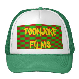 Toonjoke Films Light-Checkerboard Cap