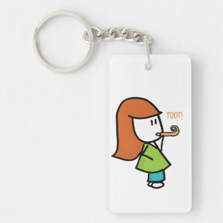 Toot! Doodle Key Chain
