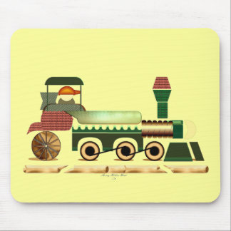 Toot Toot Train 2 Mouse Pad