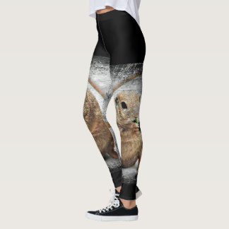 """""""Toot Your Own Horn"""" Ground Squirrel Leggings"""