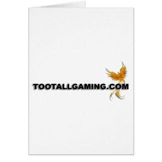 Tootallgaming.com Greeting Card