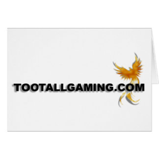 Tootallgaming.com Greeting Card