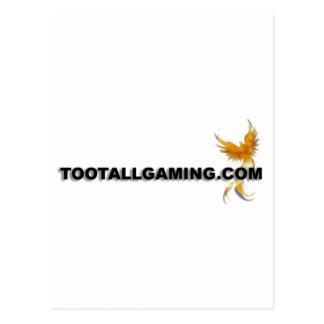 Tootallgaming.com Postcard