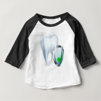 Tooth and Shield Concept Baby T-Shirt