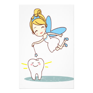 Tooth Fairy Day - Appreciation Day Customised Stationery