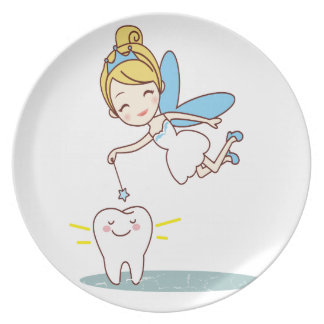 Tooth Fairy Day - Appreciation Day Plate