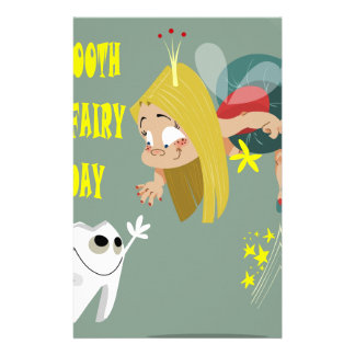Tooth Fairy Day - Appreciation Day Stationery