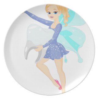 Tooth Fairy Plate