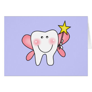 Tooth Fairy Tshirts and Gifts Greeting Card