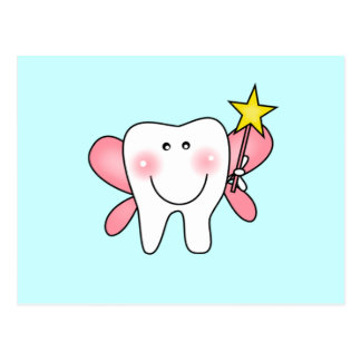 Tooth Fairy Tshirts and Gifts Postcard